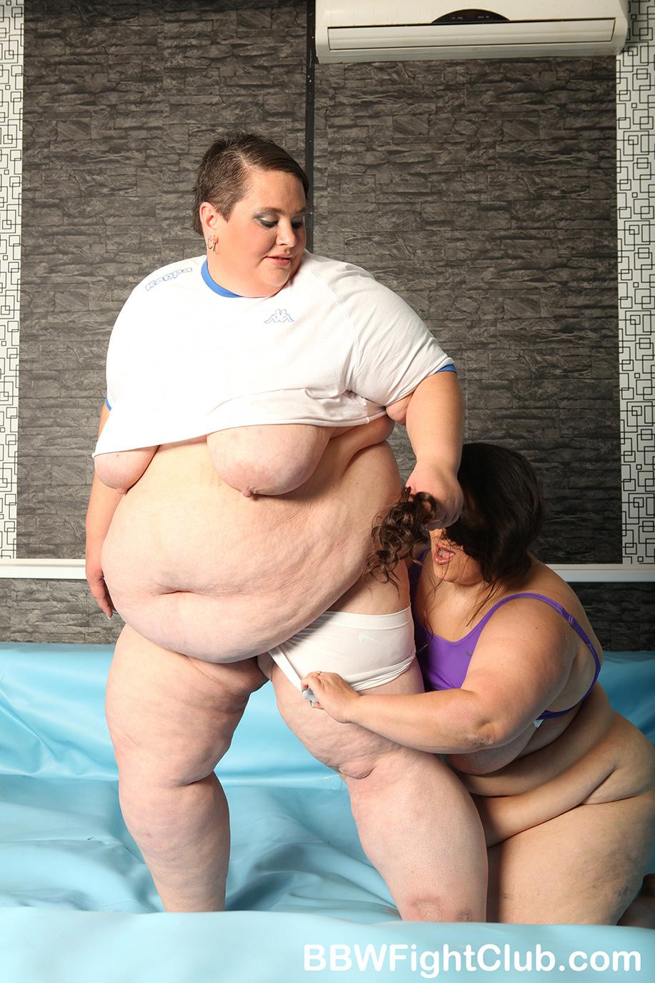 Naked Oil Wrestling Match